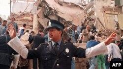انفجار مرکز یهودیان آمیا در پایتخت آرژانتین- ۱۹۹۴ میلادی
