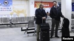 Іноземці поспішають вилетіти з Бенгазі, фото з міжнародного аеропорту «Беніна» в Бенгазі 24 січня 2013 року