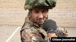 Убитый на Донбассе узбекистанец Ходжиакбар Шарипов.