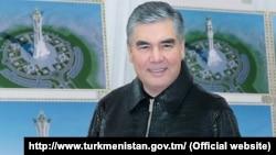 Туркманистон президенти Гурбангули Бердимуҳаммедов.