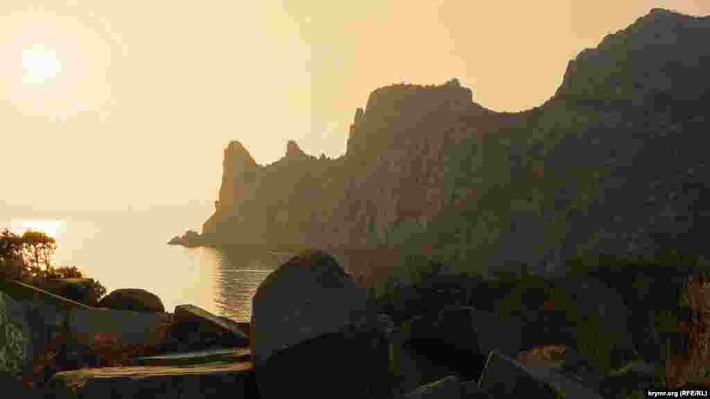 Закат над Караул-Оба