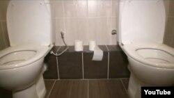 Сочи. Туалет в Олимпийской деревне