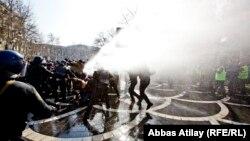 Бакудегі наразылық шеруі. Әзербайжан, 10 наурыз 2013 жыл.