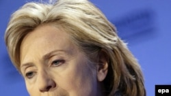 U.S Secretary of State Hillary Clinton says Tehran has made no real effort at compromise.