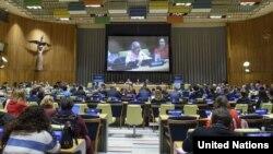 جلسات شورای اقتصادی و اجتماعی سازمان ملل از حدود دو هفته پیش به ریاست ماریه خاتردوا و با سخنرانی امینه محمد، معاون دبیرکل، آغاز شده است