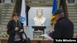 На одном из избирательных участков в Кишиневе