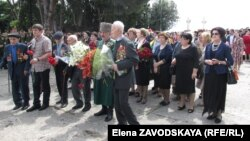 Абхазские ветераны, 9 мая 2018 г.