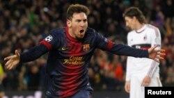 Lionel Messi i Barcelonës