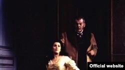 Angela Gheorghiu cu Leo Nucci în Traviata