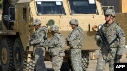 Американские военнослужащие патрулируют улицы Ирака. Иллюстративное фото.