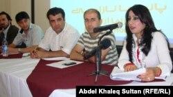 مشاركون في مشروع الشراكة بين الصحفيين ومنظمات المجتمع المدني