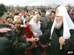 Patriarhul Alexei II, octombrie 2008