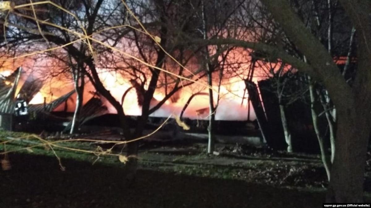 Пожар на военном складе: прокуратура открыла производство, убытки оценивают в 10,5 млн гривен