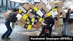 Пожар на рынке «Кулагер». Алматы, 17 ноября 2013 года.