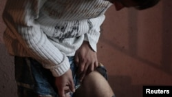 Many drug users have left the region for other parts of Ukraine. (file photo)