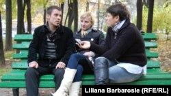 Ion și Irina de vorbă cu Liliana Barbăroșie