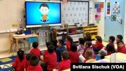 Урок в муниципальной школе Нью-Йорка