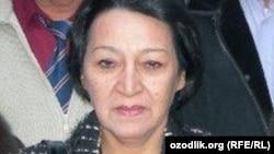 """Ko'mak markazi"" guruhi rahbari Dilorom Ishoqova"