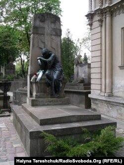 Маркіян Шашкевич похований на Личаківському цвинтарі у Львові
