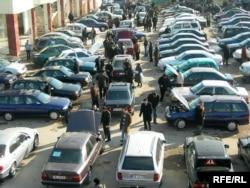 Автомобильный базар.