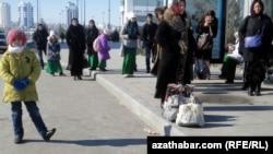 Время ожидания автобусов в Ашхабаде увеличилось