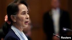 Військові затримали очільницю уряду Аун Сан Су Чжі (на фото), президента Він М'їна та інших вищих діячів правлячої Національної ліги за демократію