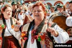 ХVI гастрономічний фестиваль «Гуцульська бриндзя». Рахів, Закарпатська область, 4 вересня 2016 року