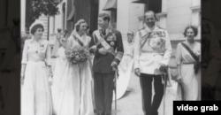 La căsătoria de la Atena, în 1948