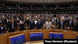 Европарламенттеги добуш берүүдөн кийинки жагдай. 29-январь, 2020-жыл.