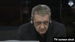 Dušan Mudrinić u sudnici 19. veljače 2014.