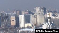 Бишкекти кара түтүн каптады (аудио)