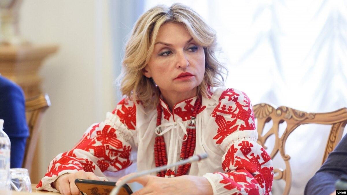 В Раде зарегистрирован проект постановления о прекращении полномочий депутата Ирины Луценко