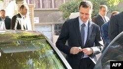 Presidenti sirian, Bashar al Assad, (Ilustrim)