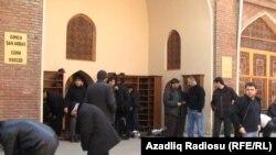 Gəncə. Şah Abbas Məscidi.