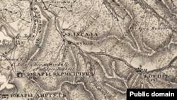 Карта 1842 года