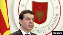 Министерот за надворешни работи Никола Попоски во Тирана