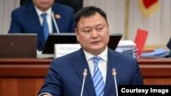 Экс-вице-премьер-министр Дуйшенбек Зилалиев.