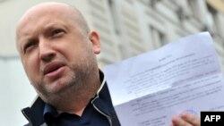 Александр Турчинов, заместитель руководителя оппозиционной партии «Батькивщина». Киев, 10 мая 2012 года.