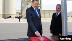 Naxçıvan sement zavodunun açılışı - 2012
