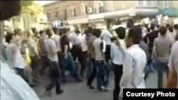 اعتراض در شهر ارومیه به خشک شدن دریاچه ارومیه