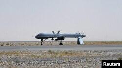 Американский самолет-беспилотник в Афганистане