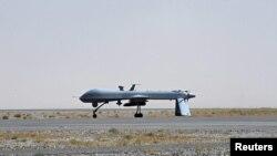 Американский беспилотный самолет Predator, с которого наносятся удары по боевикам в Пакистане и Афганистане