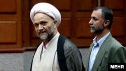عباسعلی علیزاده؛ رئیس وقت دادگستری تهران