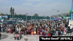 Душанбедегі қала күні мерекесі. 12 қазан 2014 жыл.