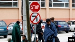 Migrantët nga Siria në Beograd