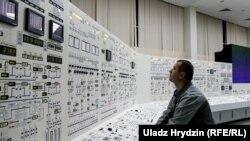 Падчас першых вучэньняў на Беларускай АЭС, кастрычнік 2019