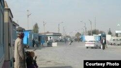 The Uzbek-Tajik border (file photo)