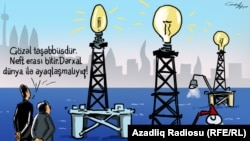 Azerbaijan - cartoon on future of the country
