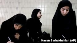 Иран студенттері. (Көрнекі сурет)