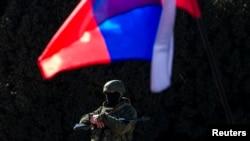 Ҳарбиёни Русия дар Қрими Украина